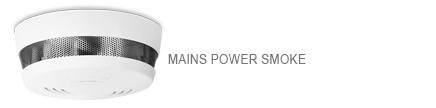Cavius Nettdrevet 240 volt trådløs røykvarsler