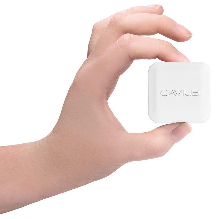 Cavius hub i hånd