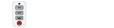 Cavius Key Fob fjernkontroll for HUB